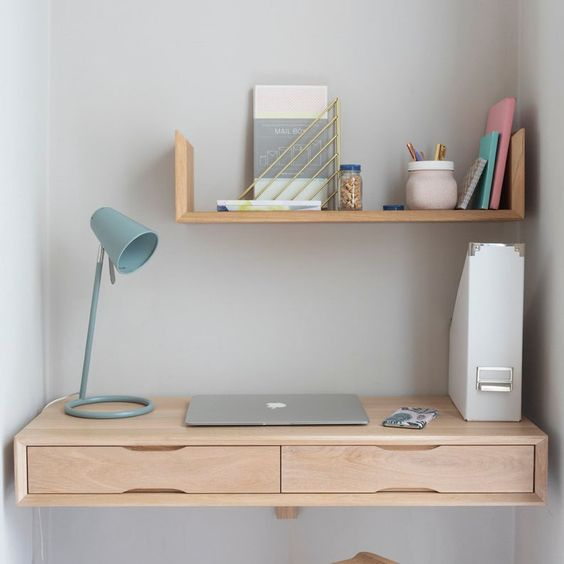 Suspended Small Desk Models For The Bedroom