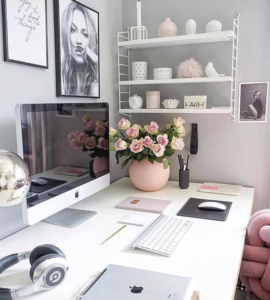 Decoration Tips With Small Desk