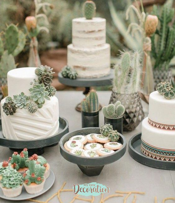 succulents-candy-table