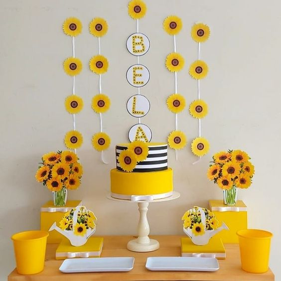 Sunflower Party Decoration Tips