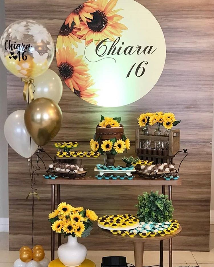 Sunflower in Party Decoration
