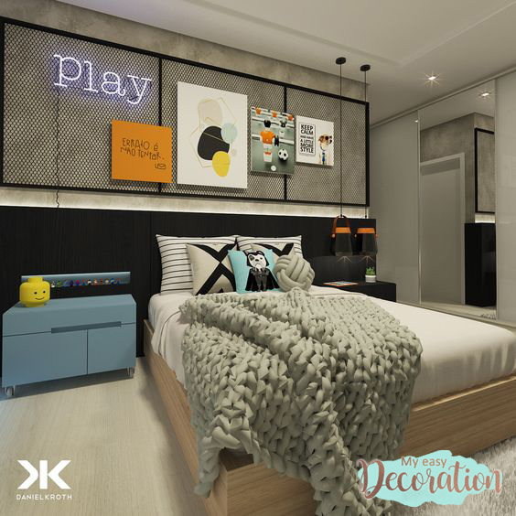 Teen Bedroom Ideas For Boys Tip 2: Defining Colors