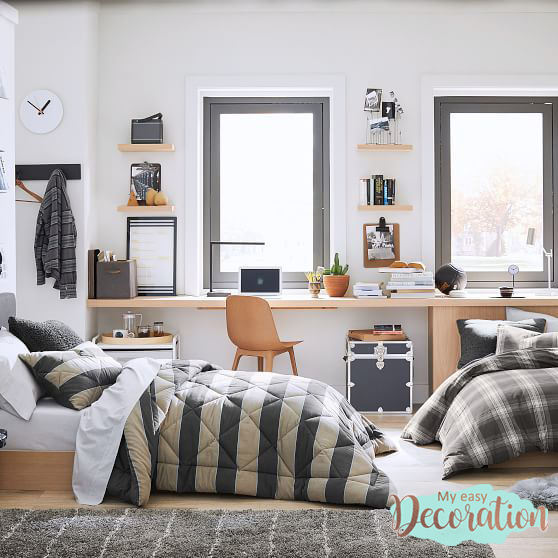 Teen Bedroom Ideas With Shared Environment