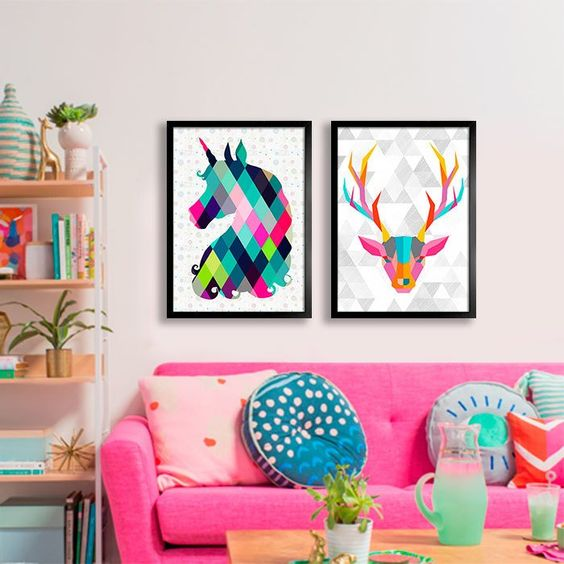 Unicorn Decoration in Environments 2