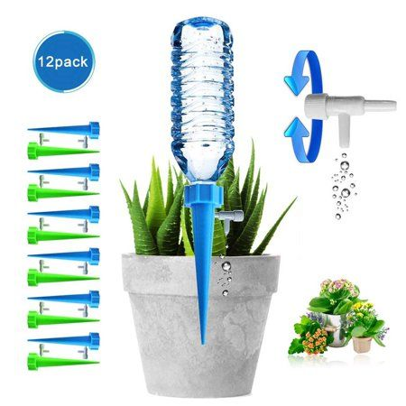 Vase With Automatic Irrigation
