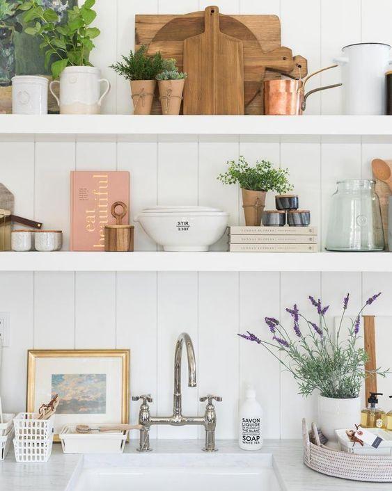 Vase In The Kitchen