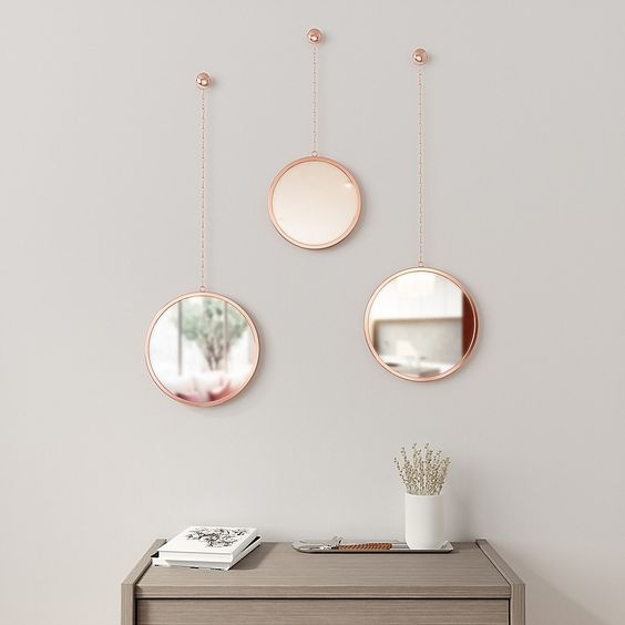 Wall Mirror Round: Formats That Are Trend