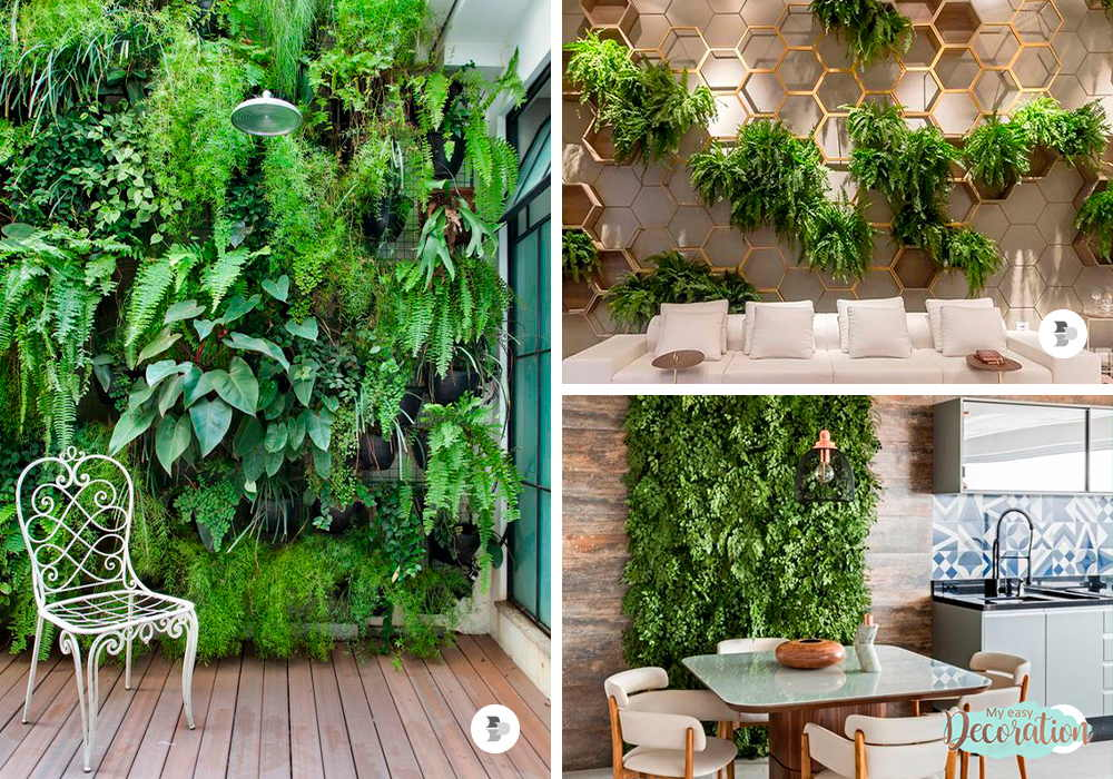 Easy Ways To Make Green Walls Decor In Your Home