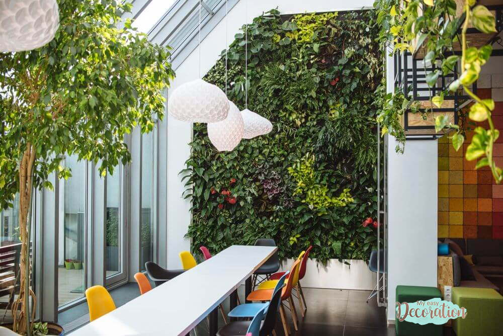 Reasons To Have Green Walls Office