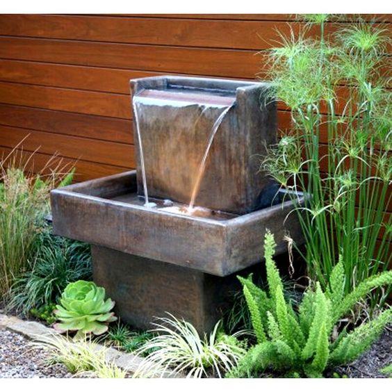 Cascade Water Fountain Garden