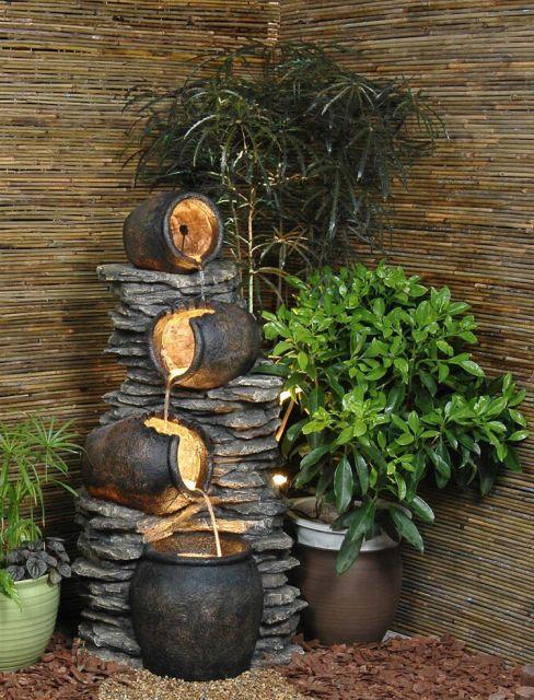 Water Fountain Indoor Stone