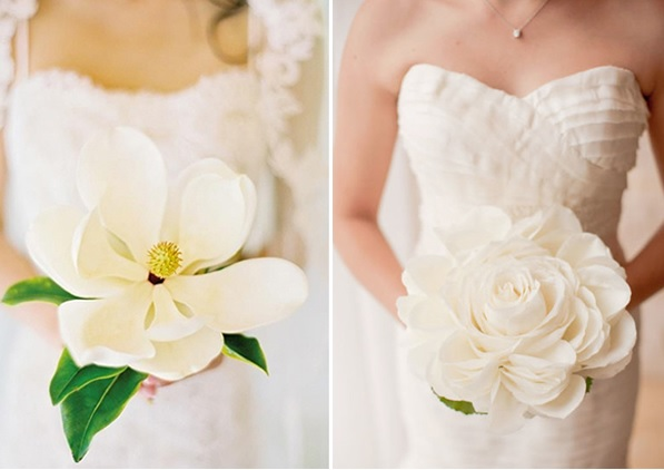 The Bride's Bouquet at Wedding Decoration Tip 3 With The Single Flower Bouquet