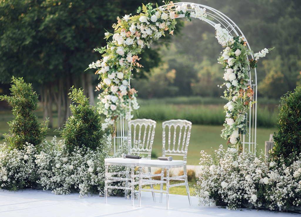 The Wedding Decoration Ceremony