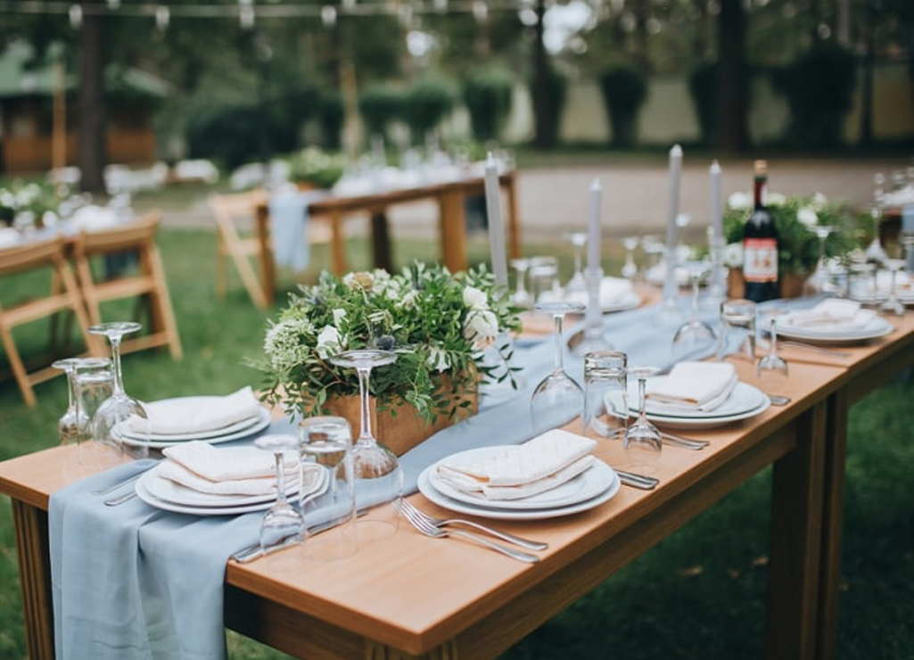 The Guest Table In Wedding Decoration