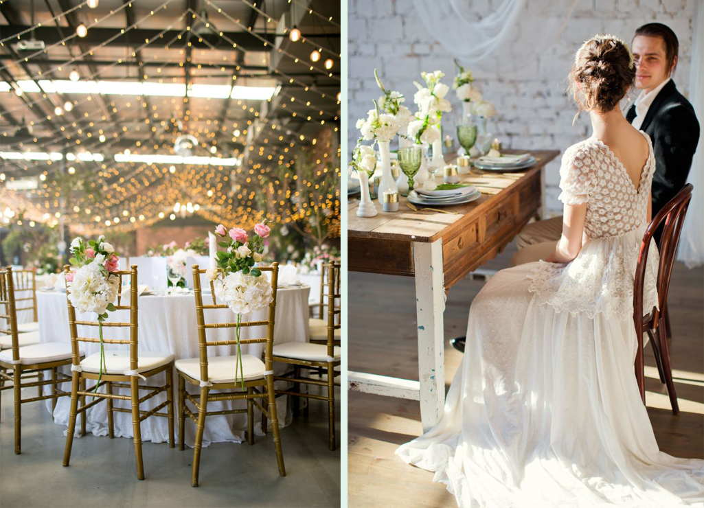 The Rustic Wedding Decoration Style