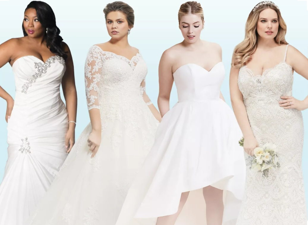 Wedding Dress Plus Size