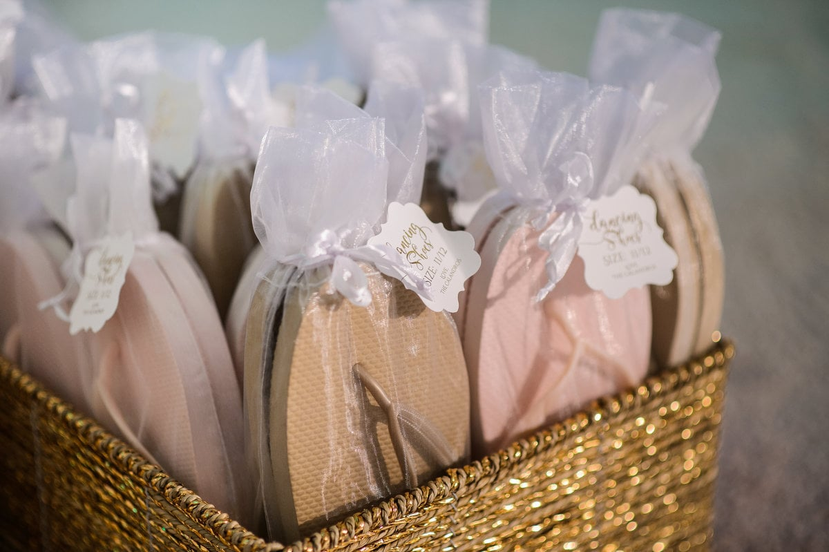 Wedding Favors With Flip Flop
