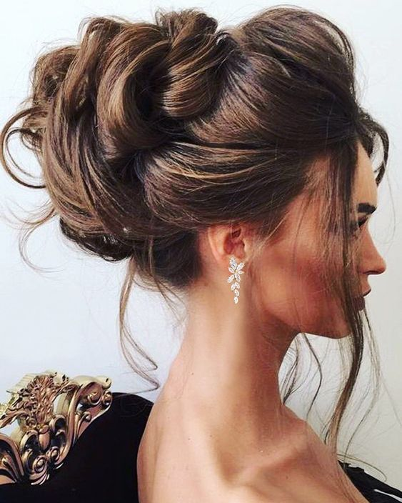 The Power Of Buns For Wedding Hairstyles For Long Hair