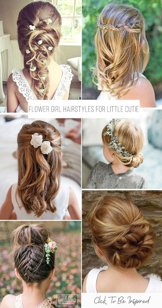Wedding Hairstyles For Kids