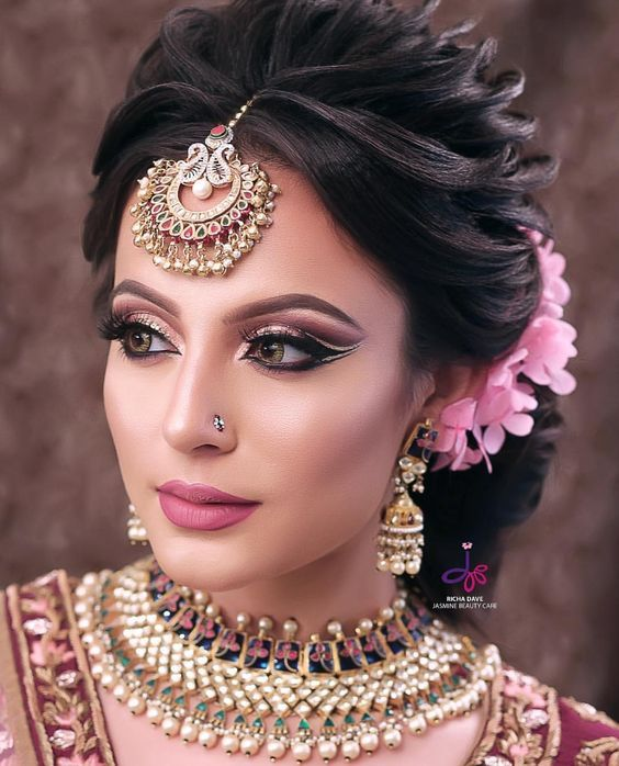 Wedding Hairstyles Indian For Bride