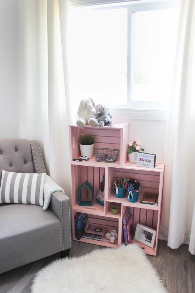 Wooden Crates Bookcases And Shelves
