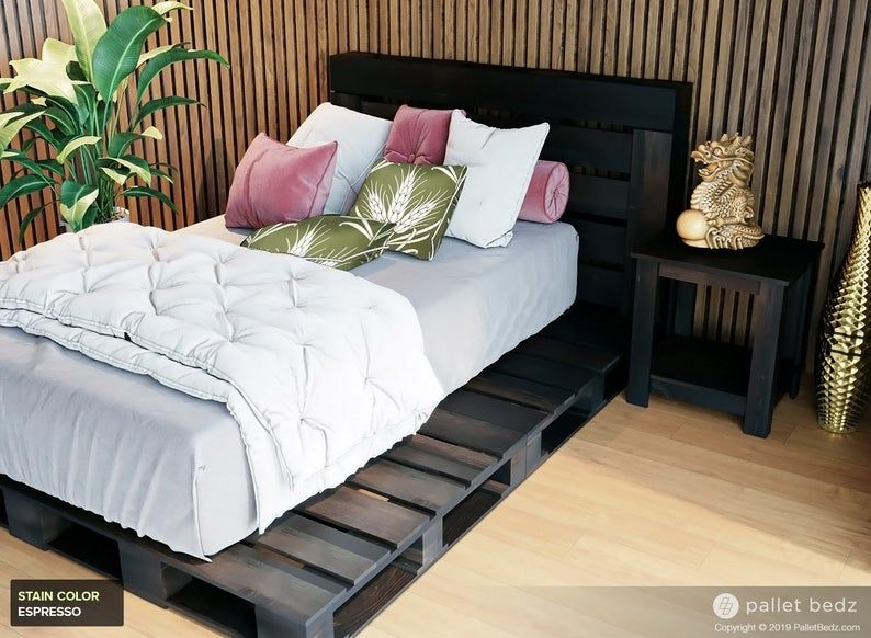 Wooden Crates Bed