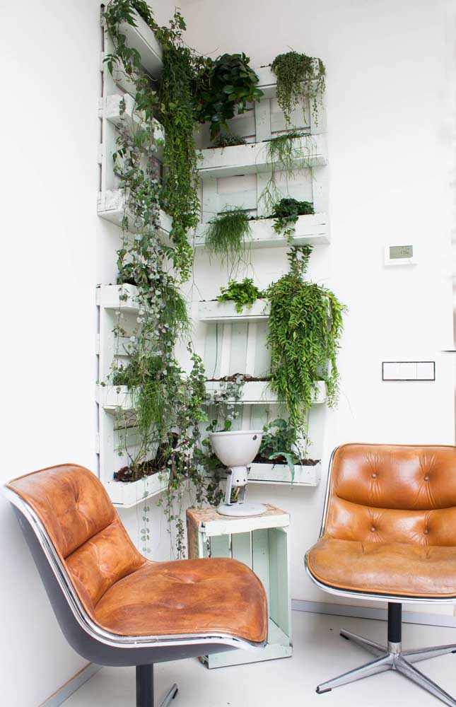 Wooden Crates Vertical Garden For Your Home