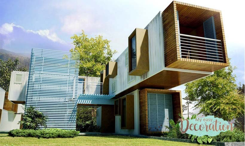Shipping Container Homes Cost + 35 Luxurious Design Breathtaking! ❤️